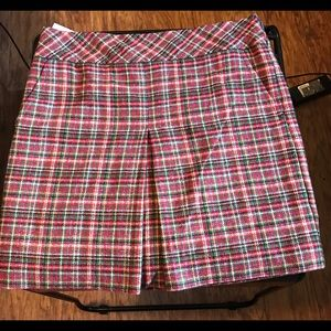 LOFT by Ann Taylor Plaid mini skirt Size 4